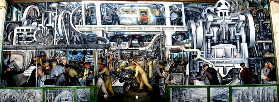 for Diego rivera ford mural
