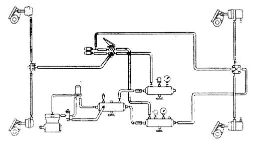Semi Air Brake Diagram : Kenworth t exhaust system engine diagram and wiring